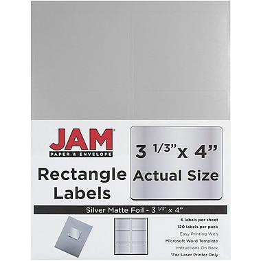 JAM Paper® Mailing Address Labels, 3 1/3