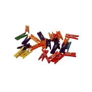"CTG Brands 45-Piece Coloured Craft Clothes Pins, 1"" x 0.25"", Multicolour, 540/Pack"