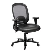 Techni Mobili Comfy Big and Tall Office Computer Chair, Black (RTA-5006-BK)