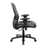 Techni Mobili Comfy Big and Tall Office Computer Chair, Black (RTA-5006-BK)