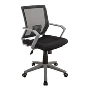 Techni Mobili Modern Office Mesh Task Chair, Black (RTA-2918-BK)