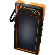 ToughTested® 8000mAh Solar Battery Pack with Flashlight, Dustproof, Shockproof, Rainproof