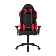 Akracing™ Core Series EX Polyester/Fabric Gaming Chair, Black/Red, 3D Adjustable (AK-EX-BK/RD)
