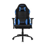 Akracing™ Core Series EX-Wide Polyester/Fabric Gaming Chair, Black/Blue, 3D Adjustable (AK-EXWIDE-BK/BL)