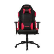 Akracing™ Core Series EX-Wide Polyester/Fabric Gaming Chair, Black/Red, 3D Adjustable (AK-EXWIDE-BK/RD)
