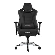 Akracing™ Masters Series Pro Pleather Gaming Chair, Black, 4D Adjustable (AK-PRO-BK)