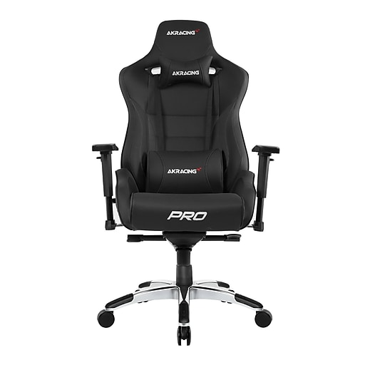 Akracing™ Masters Series Pro Pleather Gaming Chair Black