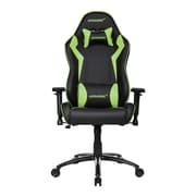Akracing™ Core Series SX PU Leather Gaming Chair, Black/Green, 3D Adjustable (AK-SX-GN)