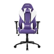 Akracing™ Core Series SX PU Leather Gaming Chair, Lavender/White, 3D Adjustable (AK-SX-LAVENDER)