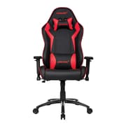 Akracing™ Core Series SX PU Leather Gaming Chair, Black/Red, 3D Adjustable (AK-SX-RD)