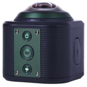 Camorama SP1 360 deg Panoramic 128GB Digital Camcorder, Black/Green