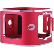 Camorama Red Aluminum Alloy/Metal/Stainless Steel Hard Shell Case (SP-MS01)