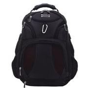 """Eco Style Jet Set Black Smart Backpack for 17"""" Laptop (EJSS-BP17-CF)"""