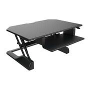 Ergotech Freedom Desk Height Adjustable Desktop Standing Desk, Black (FDM-DESK-B-US)