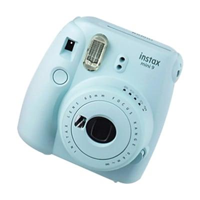 Fujifilm instax mini 9 Instant Camera with Rainbow Film, Ice Blue