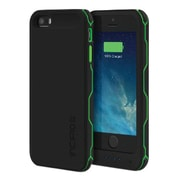 Incipio® offGRID Battery Case for Apple iPhone 5/5s, Black/Green (IPH-1051-BLK)