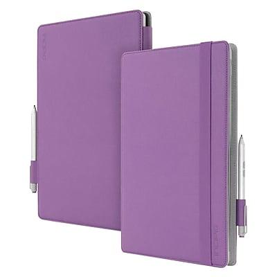 Incipio® MRSF-070 Roosevelt Leather/Microfiber Slim Folio Case for 12.3