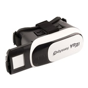 "Odyssey VR 3D Headset for 6"" Smartphone, Black (ODY-1222)"