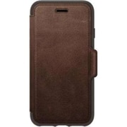 Otter Box® Strada Pro Pack Folio Case for Apple iPhone 7/8, Espresso (77-58417)