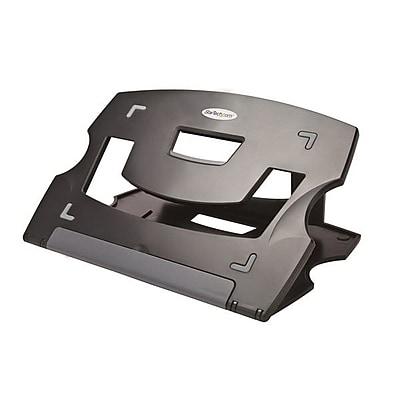StarTech.com Adjustable Portable Laptop Stand, Black/Gray (LTRISERP) IM12HD536