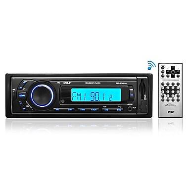 Pyle – Récepteur stéréo Bluetooth AUPLR27MPBU pour véhicule avec lecture SD/USB/MP3, noir