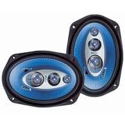 Pyle® – Haut-parleurs de véhicule PL6984BL à quatre voies, 400 watts