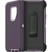 OtterBox Defender Polycarbonate Shell Synthetic Rubber Cover Holster for Smartphone Carrying Case, Purple Nebula