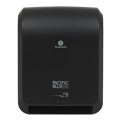 """Pacific Blue Ultra™ Automated Paper Towel Dispenser by GP PRO, Black, (59590), 12.9"""" W x 8.7"""" D by 15.5"""" H"""