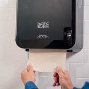 "Pacific Blue Ultra™ Mechanical Paper Towel Dispenser by GP PRO, Black, 12.6"" W x 9.3"" D by 16.7"" H (59589)"