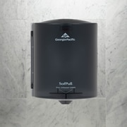 "SofPull® Centerpull Regular Paper Towel Dispenser by GP PRO, Translucent Smoke, 9.250"" W x 8.750"" D x 11.500"" H (58204)"