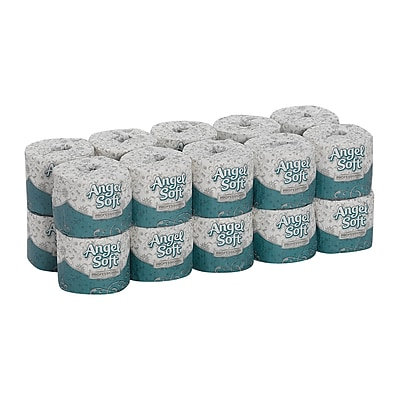 Angel Soft Professional Series® Premium 2-Ply Embossed Toilet Paper by GP PRO, 450 Sheets/Roll, 20 Rolls/Carton (16620)
