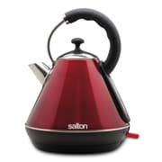 SALTON Cordless Electric Metallic Red 1.8 Lit