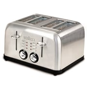 SALTON Electronic 4 Slice Toaster Stainless Steel