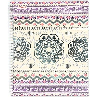 Mead® – Cahier Pretty Please, 70 feuilles, 10 1/2 po x 8 7/8 po, couleurs variées (07184)