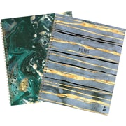 """Me to We Fashion Notebook, 70 Sheets, 8"""" x 10-1/2"""", Each, Assorted (07461)"""