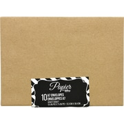 """Papier by Hilroy A7 Envelopes, 5-1/4"""" x 7-1/4"""", 10/Pack (32032)"""