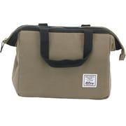 "Hilroy Heritage Lunch Bag, 9"" x 9"" x 8-1/2"", Grey/Navy (50348)"