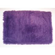 Flokati Purple , Machine Made Rug, FLK-009 3147