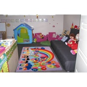 Educational Balloons, Multi-Colour, Machine Made Rug, FT512 1929