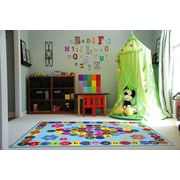 Happy Learning, Multi-Colour, Machine Made Rug, FT97 1929