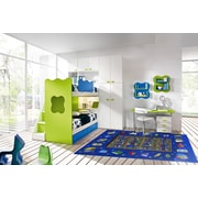 Reading Time, Multi-Colour, Machine Made Rug, FT98 1929