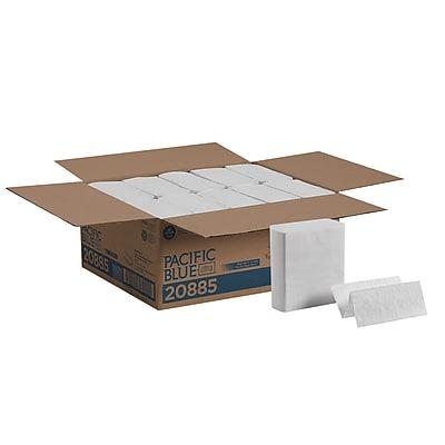 Pacific Blue Ultra™ Z-Fold Paper Towel by GP PRO, White, 20885, 260 Towels Per Pack, 10 Packs Per Case