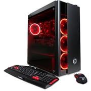 CyberPowerPC - Ordinateur Gamer Xtreme GXi10840CPG, Core i5-8400, 6 coeurs, 2,8 GHz, DD 1 To, DDR4 SDRAM 8 Go, Windows 10 Famill