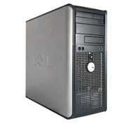 Dell - PC de table OPTIPLEX GX745 TW STC720089854638,tour, remis à neuf, Core 2 Duo E6600 2,4 GHz, DD 250 Go, DDR2 4 Go