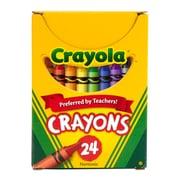 Crayola® Crayons, Regular Size, 24/Pack (BIN24)
