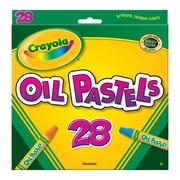 Crayola® Oil Pastels, 28 Colours (BIN524628)