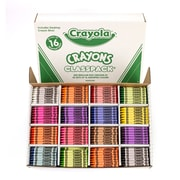 Crayola Crayons Classpacks 16 Color Reg Size 800 Crayons (BIN528016)