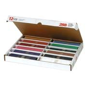 Dixon Prang® Coloured Pencils Classpack, 288/Pack (DIX82408)