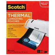 Scotch™ Thermal Laminating Pouches, Letter Size, 50/Pack (MMMTP385450)