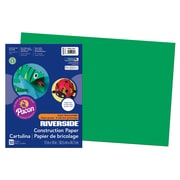 "Pacon® Riverside 3D™ Construction Paper, 12"" x 18, Holiday Green, 50 Sheets/Pack (PAC103578)"